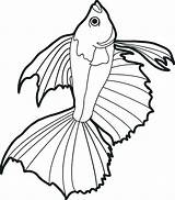 Fish Coloring Pages Realistic Drawing Fishing Pole Printable Ocean Bass Goldfish Sheet Bowl Koi Drawings Scales Clipartmag Pencil Getcolorings Smallmouth sketch template