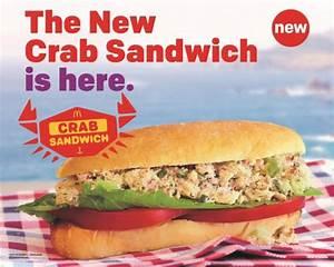McDonald's Makes It Splash With New Crab Meat Sandwich