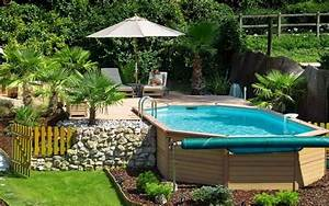 piscina piscine With attractive jardin avec piscine design 4 plantes et amenagement jardin mediterraneen 79 idees
