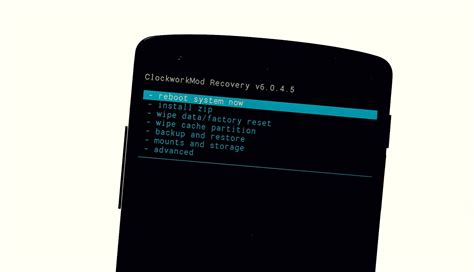 custom recovery android how to install custom recovery on the nexus 5 for ultimate