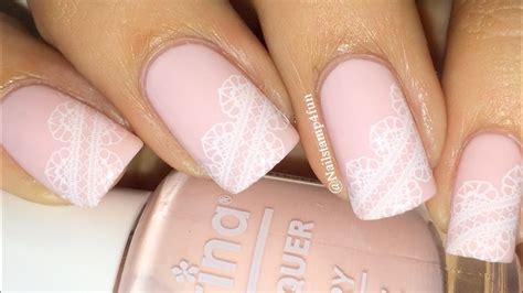 Bridal Nails, Wedding Nails, Lace Nails