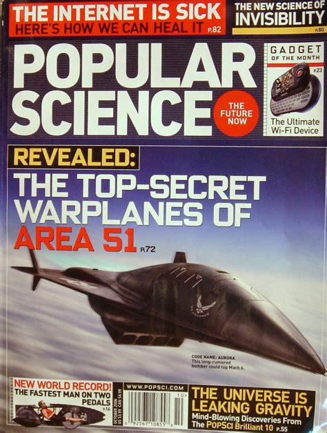 Free Popular Science Subscription :: Southern Savers