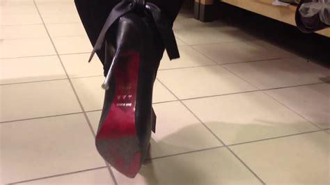 shoes for hardwood floors metal spike heels on floor youtube
