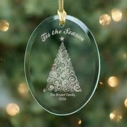 personalized christmas tree ornament simply personalized