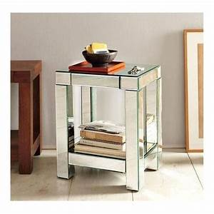 Mirrored Bedside Tables Bedroom Furniture