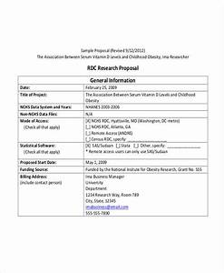 Research Grant Proposal Social Work
