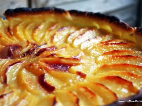 recettes de tarte aux pommes de lilimax cuisine