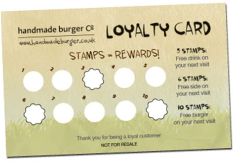 Business Punch Card Template Free