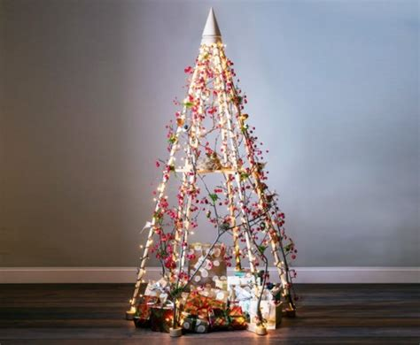 14 faux christmas trees to green your holidays inhabitat