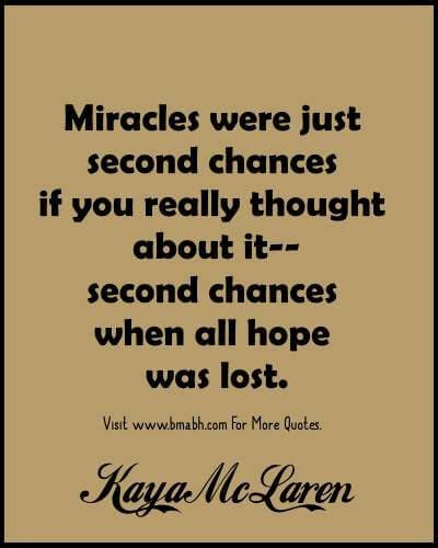 Second Chances Quotes Best 25 Second Chance Quotes Ideas On Second