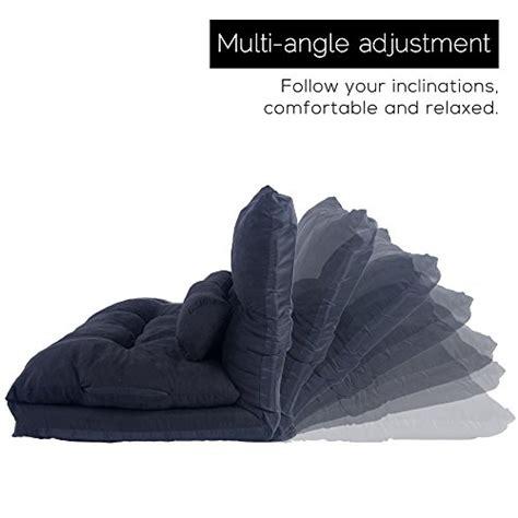 life carver adjustable floor double sofa bed thicken