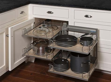 kitchen corner unit storage solutions magic corner gta cabinet ltd 8249