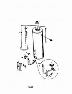 Kenmore 153338961 Gas Water Heater Parts