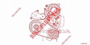 Alternator Belt  1 0 L  For Honda Cars Civic 1 0 S 5 Doors