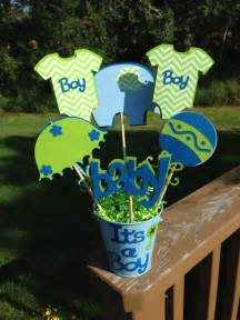 Centerpieces Baby Shower Boy by Baby Shower Table Decoration Centerpiece It S A Boy