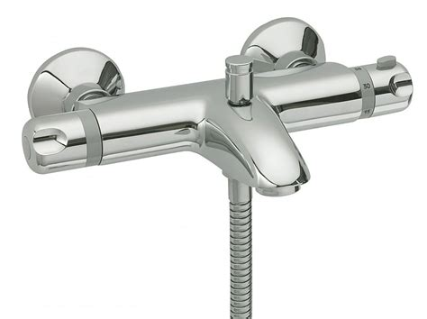 Thermostatic Bath Taps With Shower Mixer by Tre Mercati Thermostatic Wall Mounted Bath Shower Mixer