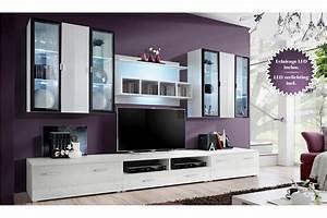 Meuble Tele Bas : meuble tv design avec rangement ~ Teatrodelosmanantiales.com Idées de Décoration