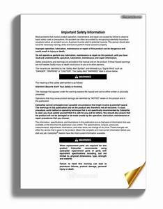 Cat Telehandler Th360b Service Manual