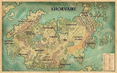 Eberron Map Khorvaire Dnd Pre