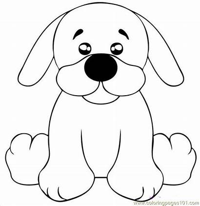 Puppy Draw Lab Coloring Dog Pages Step