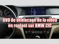 DVD de déblocage de la vidéo en roulant BMW iDrive CIC et