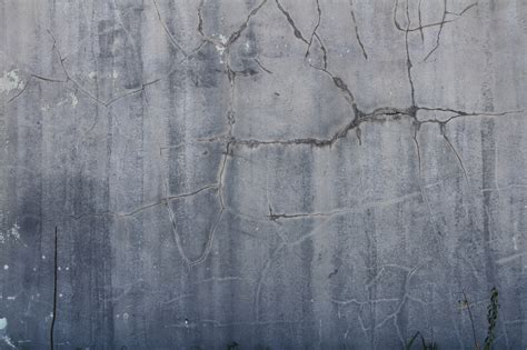 photo cracked concrete wall texture wall stone