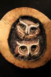 Owl Wood Carving Wall Art
