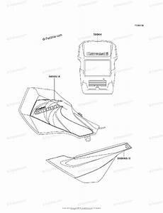 Kawasaki Motorcycle 2003 Oem Parts Diagram For Decals