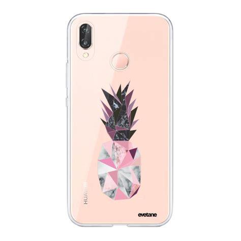 coque souple huawei p20 lite souple transparente ananas