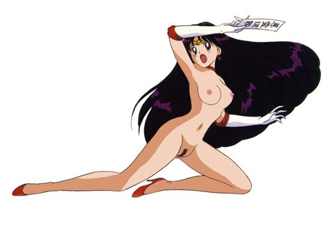 xbooru bishoujo senshi sailor moon breasts gloves high heels hino rei nude ofuda rei hino