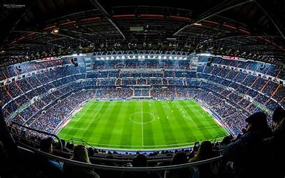 Bernabeu Santiago Stadium Madrid Estadio Champions Wallpapers