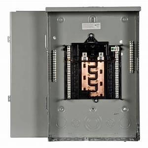 Siemens Pl Series 125 Amp 12-space 24-circuit Main Lug Outdoor Load Center-pw1224l1125cu