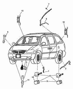 2006 Chrysler Town  U0026 Country Sensors - Body
