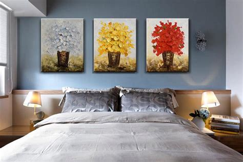 modern flower oil painting canvas thick oil abstract