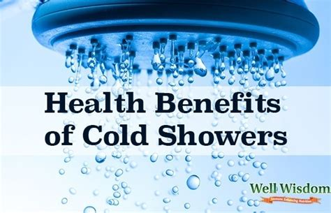 Benefits Of Cold Showers by Health Benefits Of Cold Showers
