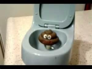 Cartoon Poop Toilet