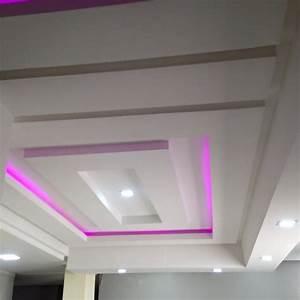 Decoration Faux Plafond : 80 decoration placo plafond inspiration de dcor avec cuisine d coration deco faux plafond salon ~ Melissatoandfro.com Idées de Décoration