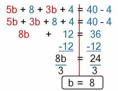 Step Equation Multi Combining Equations Multiple Equality