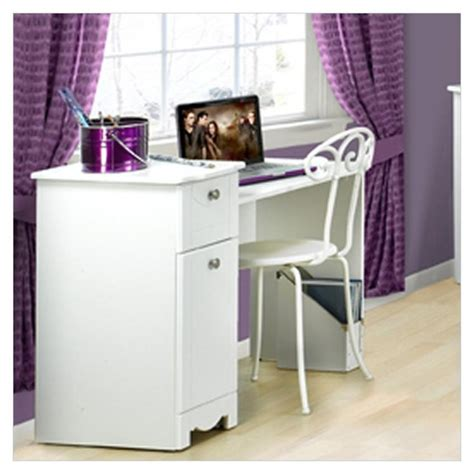 girls white desk and chair bedroom nice looking home furniture design of white desk