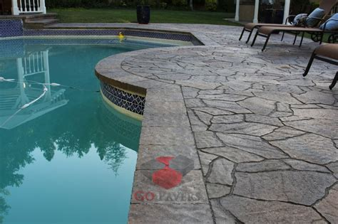 belgard arbel and lafitt patio slab toscana color pool