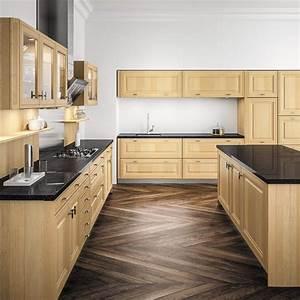 cuisine bois top cuisine With meuble de cuisine rustique 2 cuisine en bois bois clair meuble de cuisine en bois