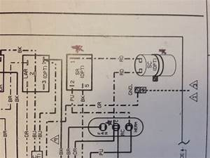 Wiring Diagram Vs Actual Wiring   - Hvac