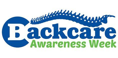backcare awareness week national awareness days calendar