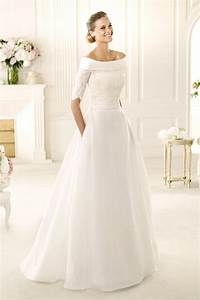 48 elegant long sleeve wedding dresses for winter brides With dress for winter wedding