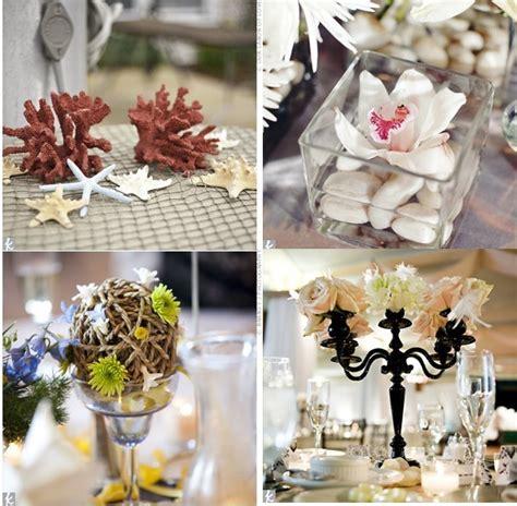 decoration florale table mariage  faire  meme