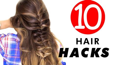 Hairstyle For Hair For by 10 Everyday Hair Hacks Hairstyles Every Should