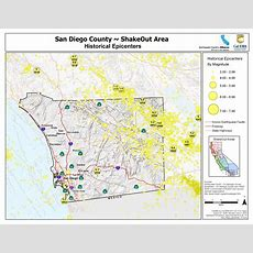 Great Shakeout Earthquake Drills  San Diego County