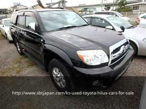 Used Toyota Hilux Cars For Sale Sbt Japan Youtube