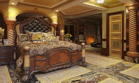 aico furniture bedroom sets michael amini bedrooms