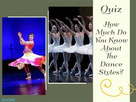 Quiz  How Much Do You Know About The Dance Styles?